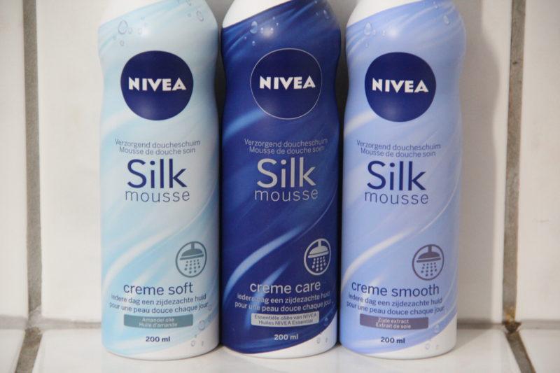 Nivea Shower Silk Mousse